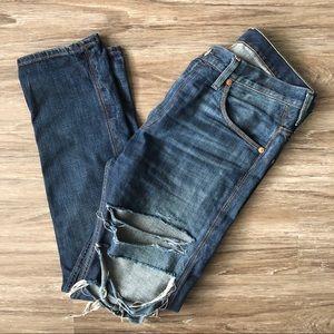 Levis 508 Jeans Men's Size 33x32 Distressed